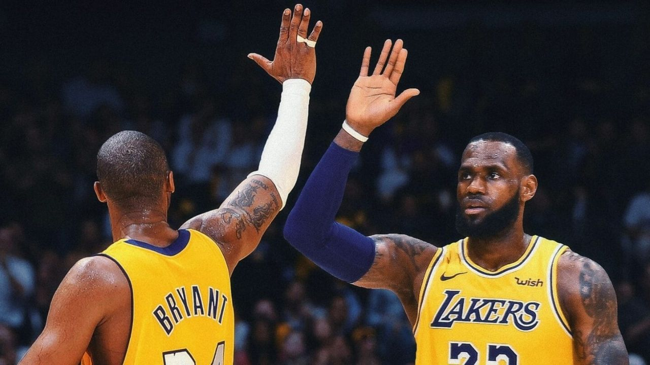 LeBron James on Kobe Bryant