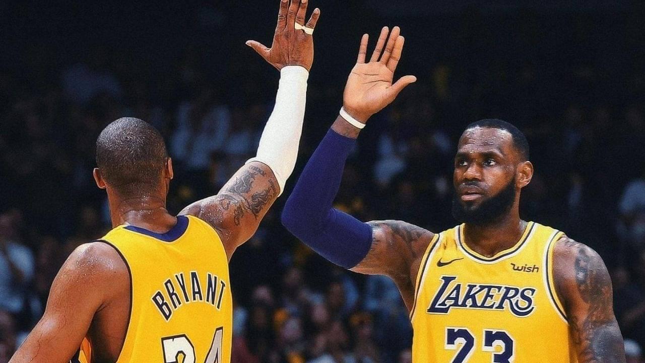 LeBron James passes Kobe Bryant