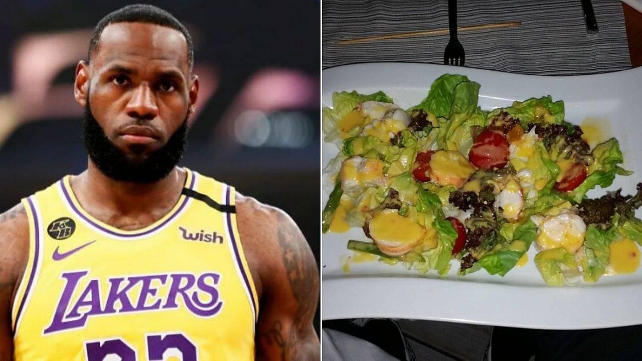 LeBron James Bubble food