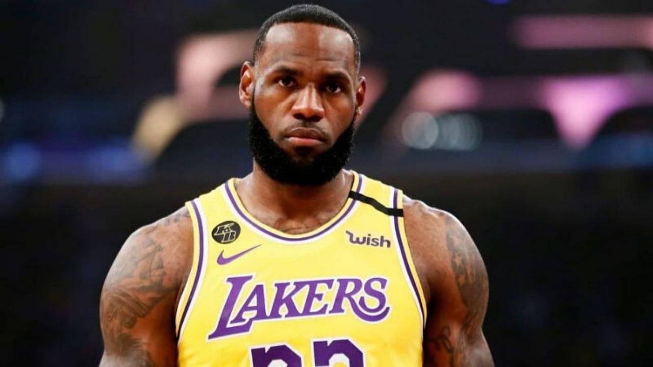 LeBron James compares NBA Bubble to prison