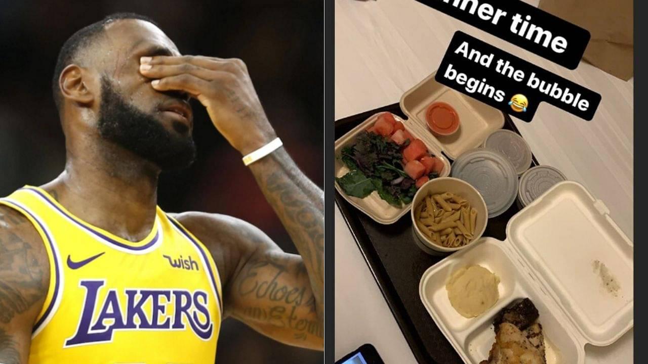 NBA Bubble Food