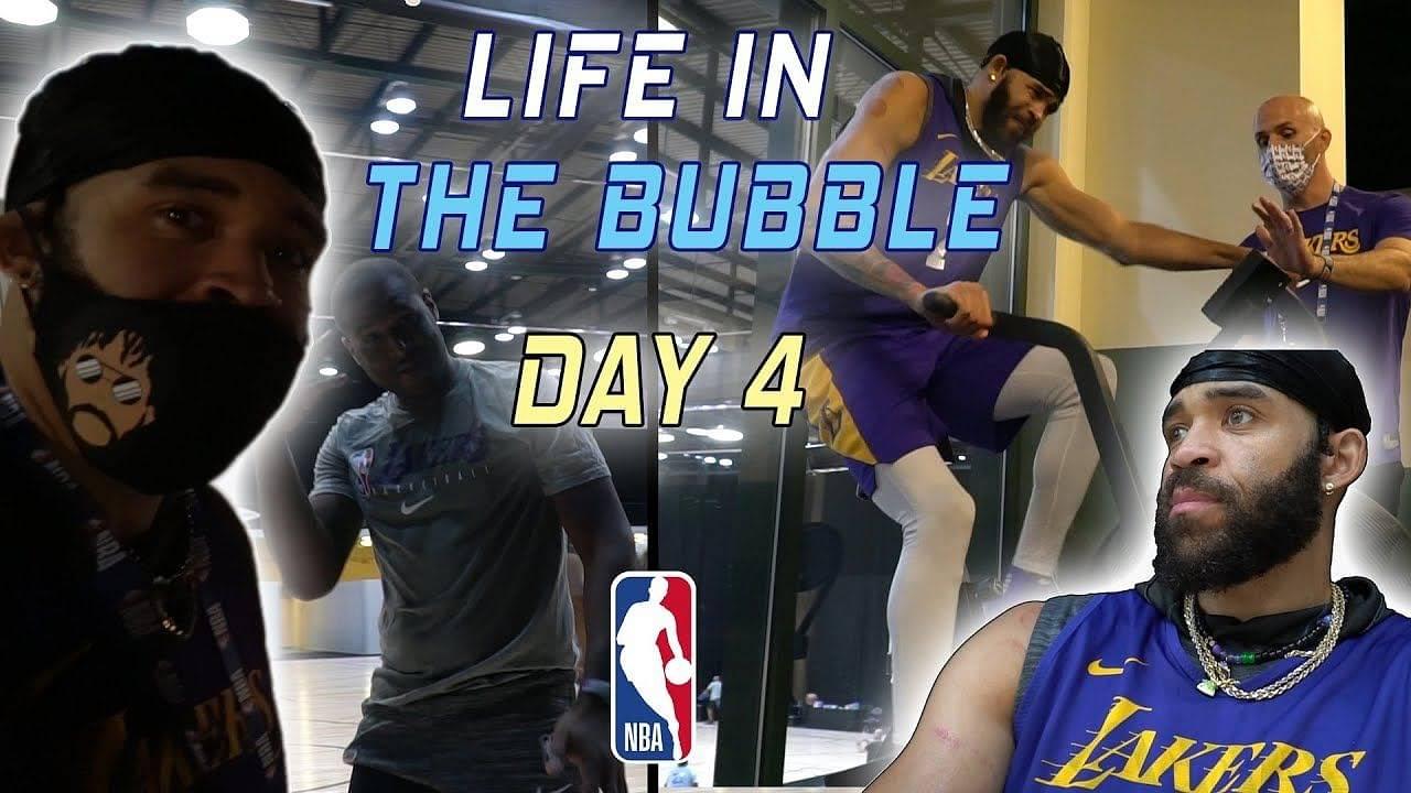 NBA Bubble life videos
