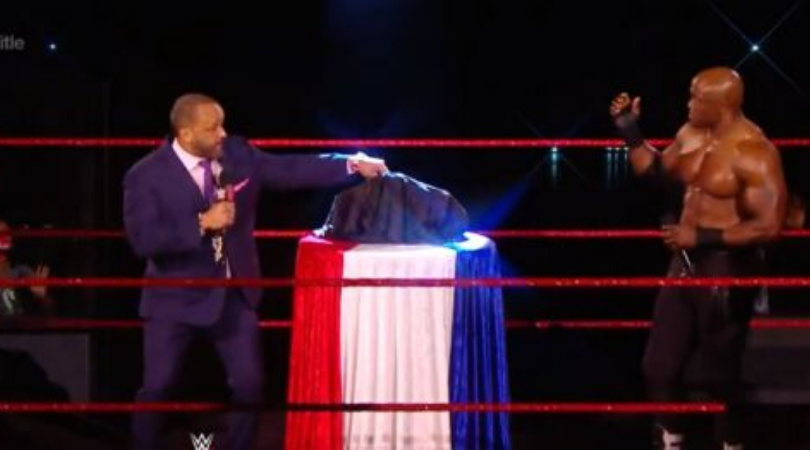 New WWE United States Title unveiled on RAW