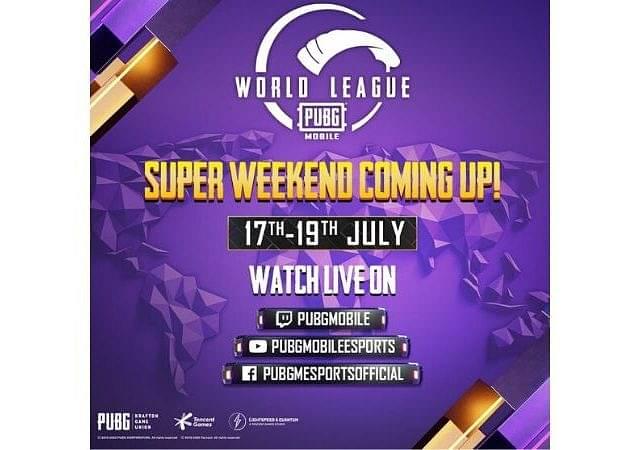 PMWL Super Weekend Schedule, Qualified Teams & Live Standings : PUBG Mobile World League East Season 0
