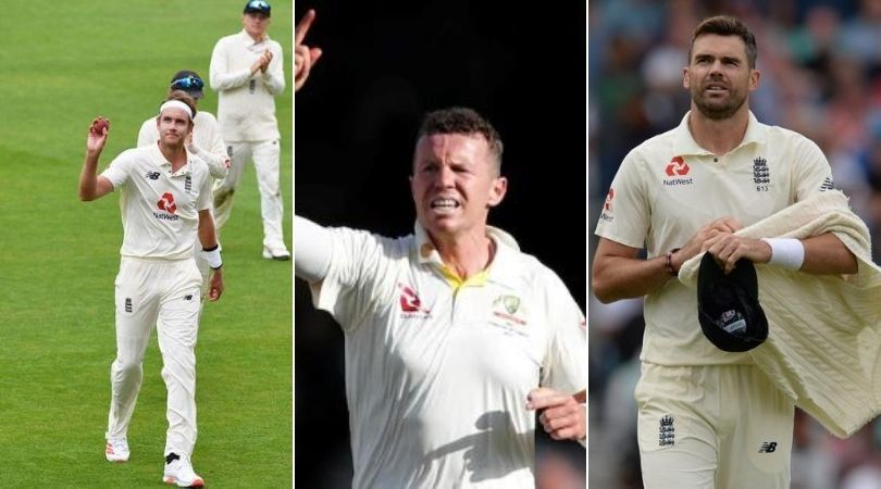 Peter Siddle bats for Stuart Broad playing ahead of James Anderson in 2021-22 Ashes