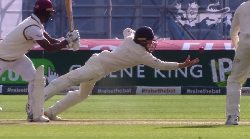 England vs West Indies 2020: Ollie Pope grabs first-rate catch as England register 113-run victory at Old Trafford