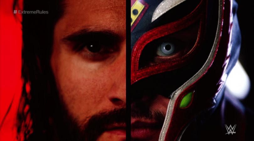 Rey Mysterio vs Seth Rollins