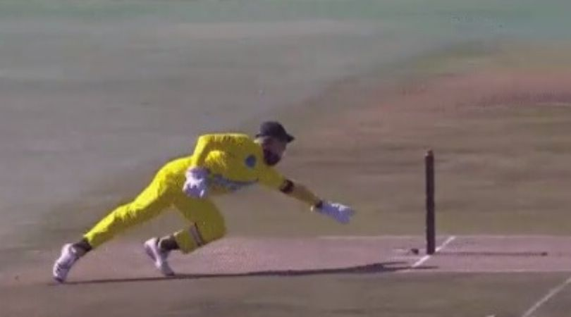 3 Team Cricket South Africa: Ryan Rickelton affects MS Dhoni-like run-out to dismiss Reeza Hendricks in Solidarity Cup