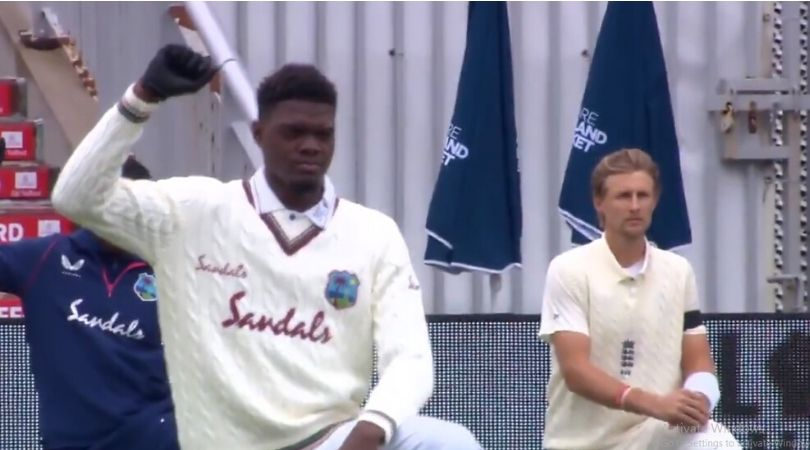England cricket black armbands today: Why is England team wearing black armbands in Old Trafford Test?