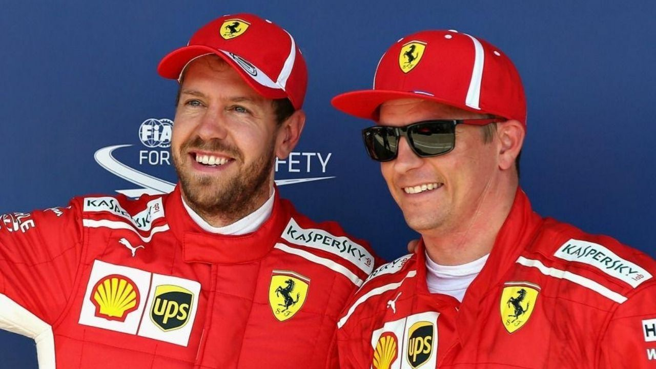Sebastian Vettel: Kimi Raikkonen