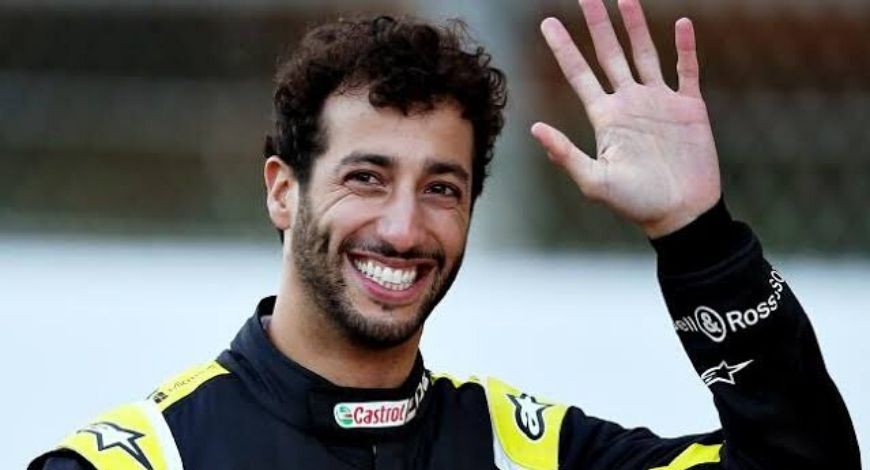 Daniel Ricciardo drops a letter in acknowledgement of BLM movement