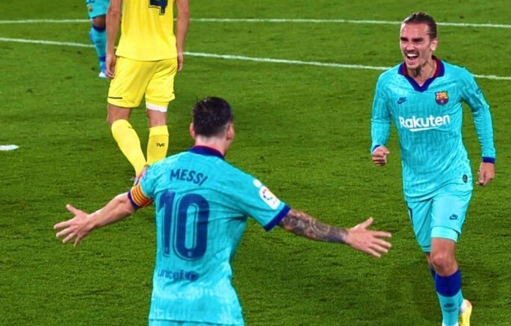 Antoine Greizmann goal Vs Villarreal: Watch Barcelona superstar with sublime finish
