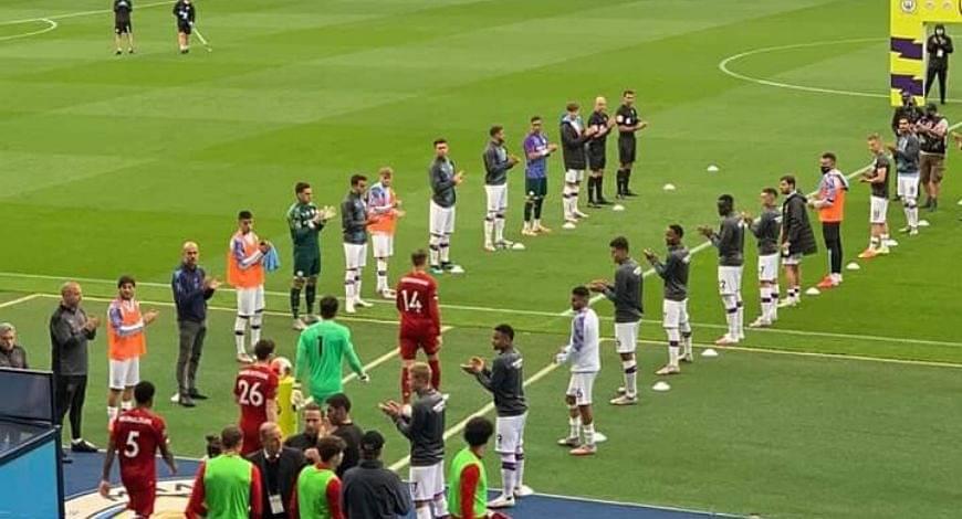 Liverpool Guard Of Honour: Manchester City pays tribute Premier League rivals over league win