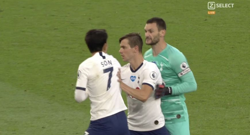 Hugo Lloris-Son Fight: Watch Tottenham Hotspur players fight before heading to tunnel Vs Everton