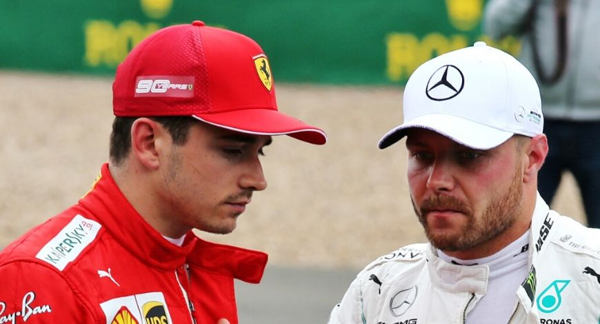 Valtteri Bottas and Charles Leclerc under light of possible COVID breach