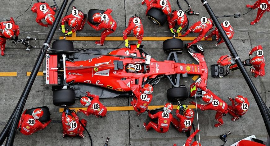 Fastest F1 Pitstop: Which team holds the world record of Fastest F1 pitspot