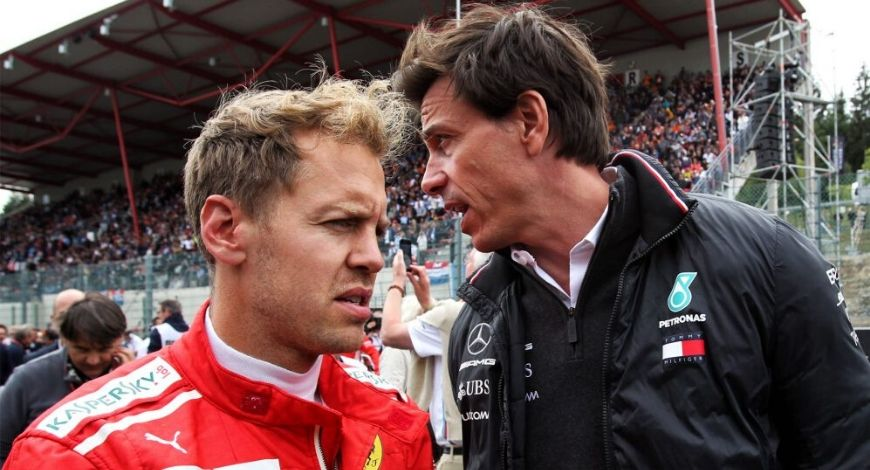 Sebastian Vettel to Aston Martin: Toto Wolff distances himself from the imminent signing of Vettel to Aston Martin for 2021