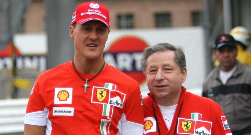 Michael Schumacher is battling with his condition; Jean Todt wishes world to see him again