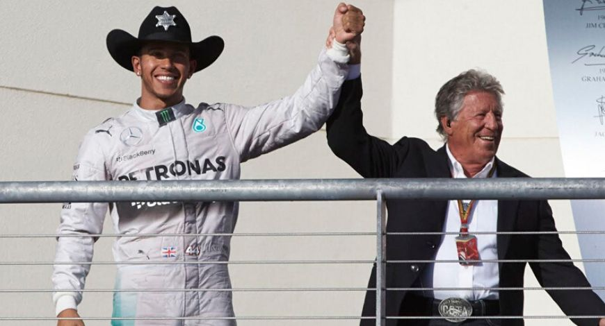 """""""This is disappointing""""- Lewis Hamilton reacts to Mario Andretti's comments calling him pretentious and militant"""