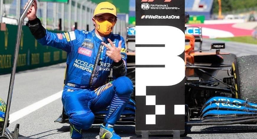 Lando Norris optimistic of McLaren beating Ferrari in the team standings this season