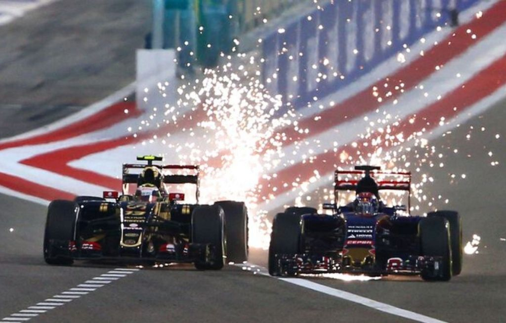 Why Do F1 Cars Spark: Reason behind sparks flying off from back of an F1 car explained