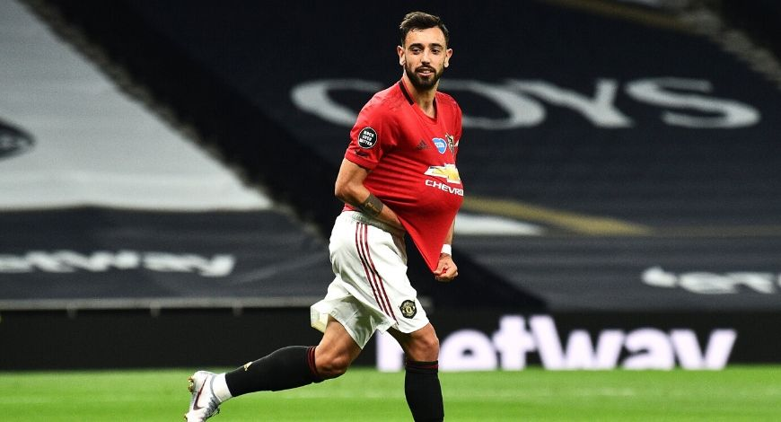 Bruno Fernandes goal Vs Brighton: Portuguese International scores after splendid game play by Manchester United