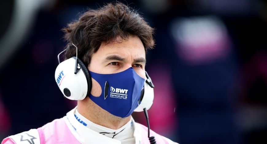 Sergio Perez Coronavirus: Mexican racer in self-isolation after inconclusive test result