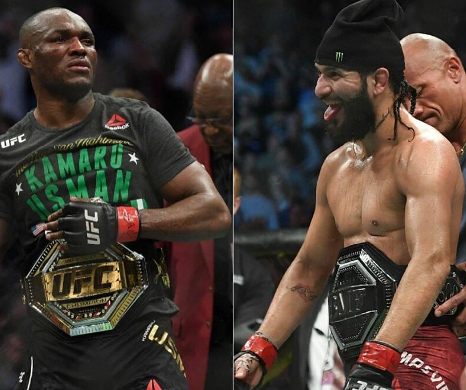 UFC 251: Kamaru Usman VS, Jorge Masvidal, Booked
