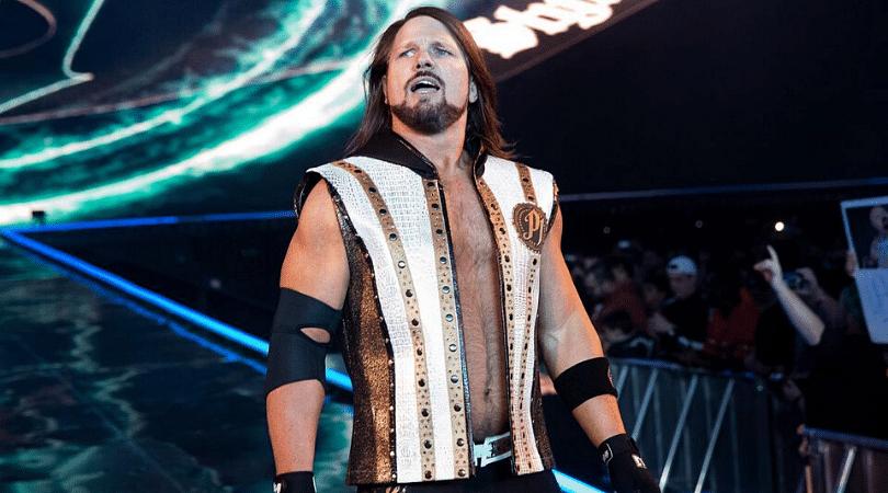WWE Superstar AJ Styles hints at retirement