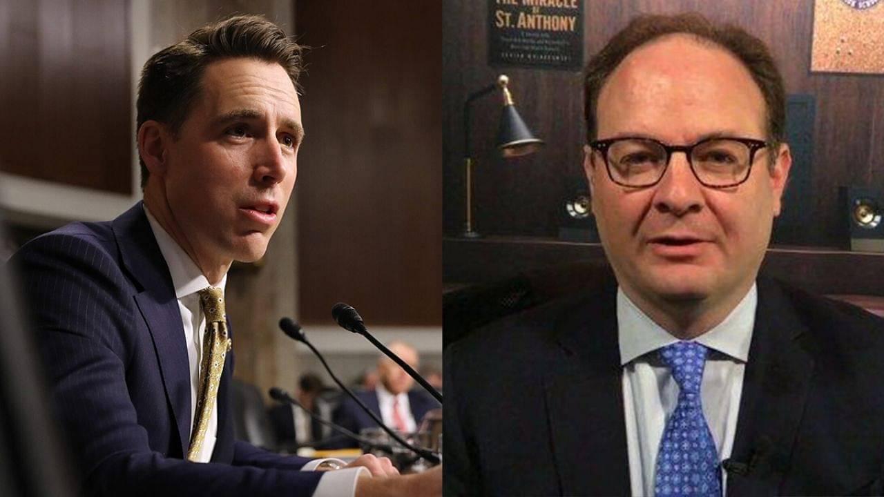 Adrian Wojnarowski abuses senator Josh Hawley