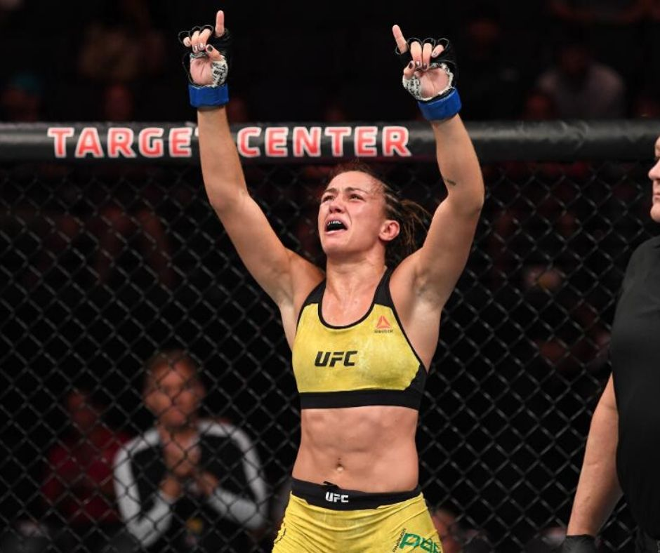 Amanda Ribas Defeats PaIge VanZant in The First Round, UFC 251