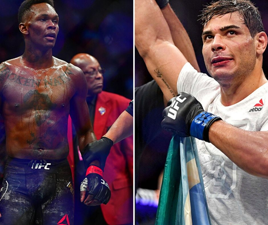 Israel Adesanya Vs. Paulo Costa Set for September 19th, UFC 253