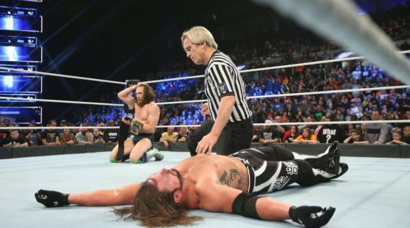 AJ Styles explains why he lost the WWE Championship to Daniel Bryan in 2018