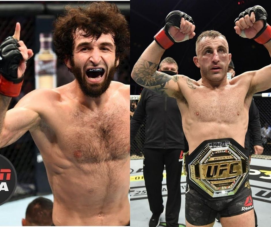 Zabit Magomedsharipov Wants To Challenge Alexander Volkanovski. The Two Engaged in a Twitter Back And Forth