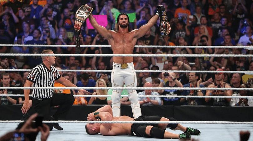 Arn Anderson believes Seth Rollins should have beaten John Cena clean at SummerSlam 2015