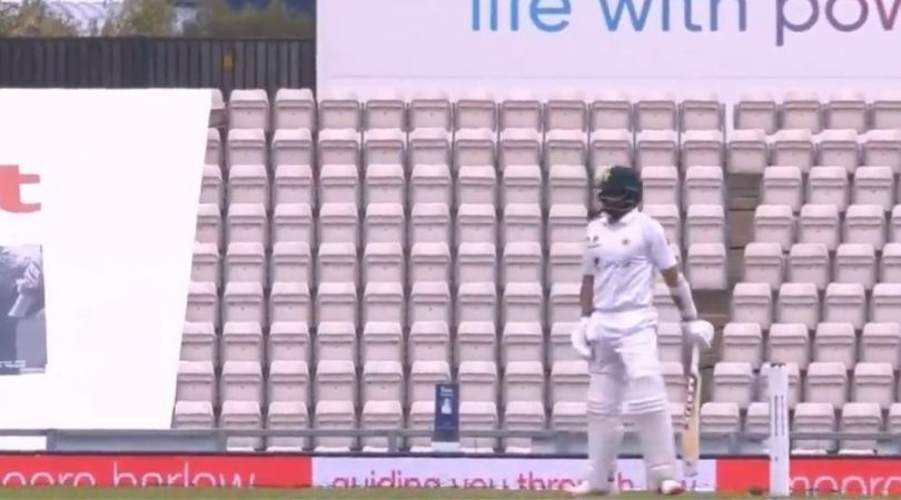 England vs Pakistan 2020: Watch Azhar Ali survives against Chris Woakes despite ball hitting stumps in Southampton Test