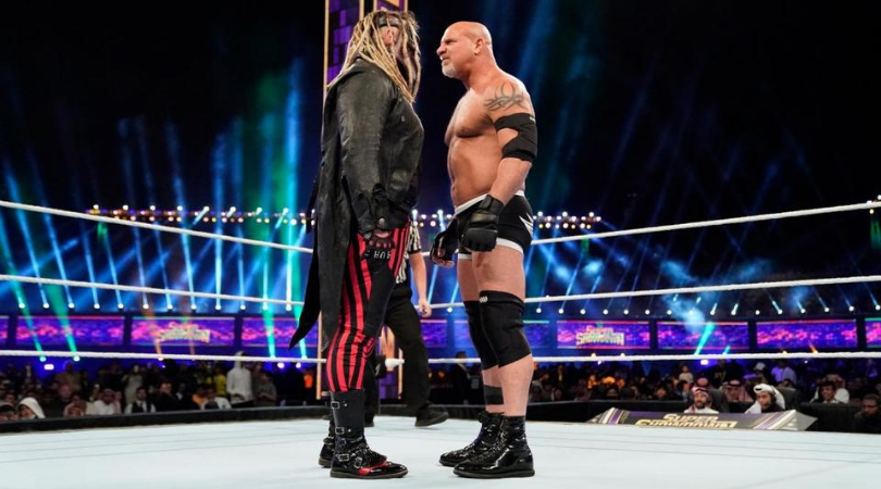 Bray Wyatt sends Goldberg a cryptic message