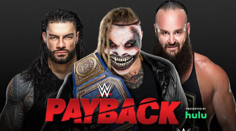 Bray Wyatt vs Roman Reigns vs Braun Strowman announced for the Universal title at WWE Payback