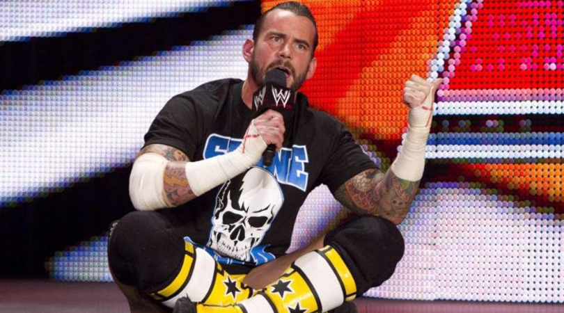 CM Punk on who he would like to wrestle in WWE