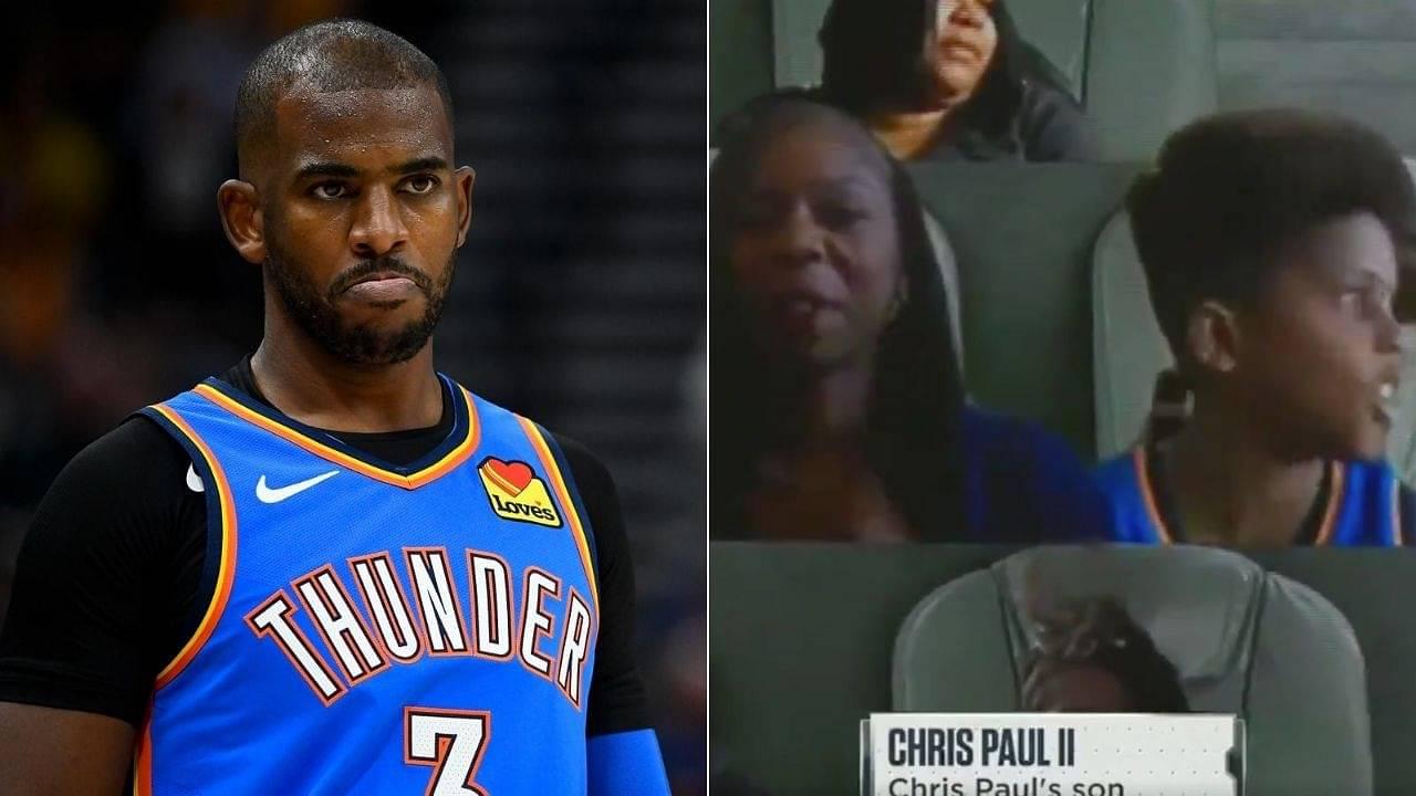 Chris Paul's son NBA Virtual Fan