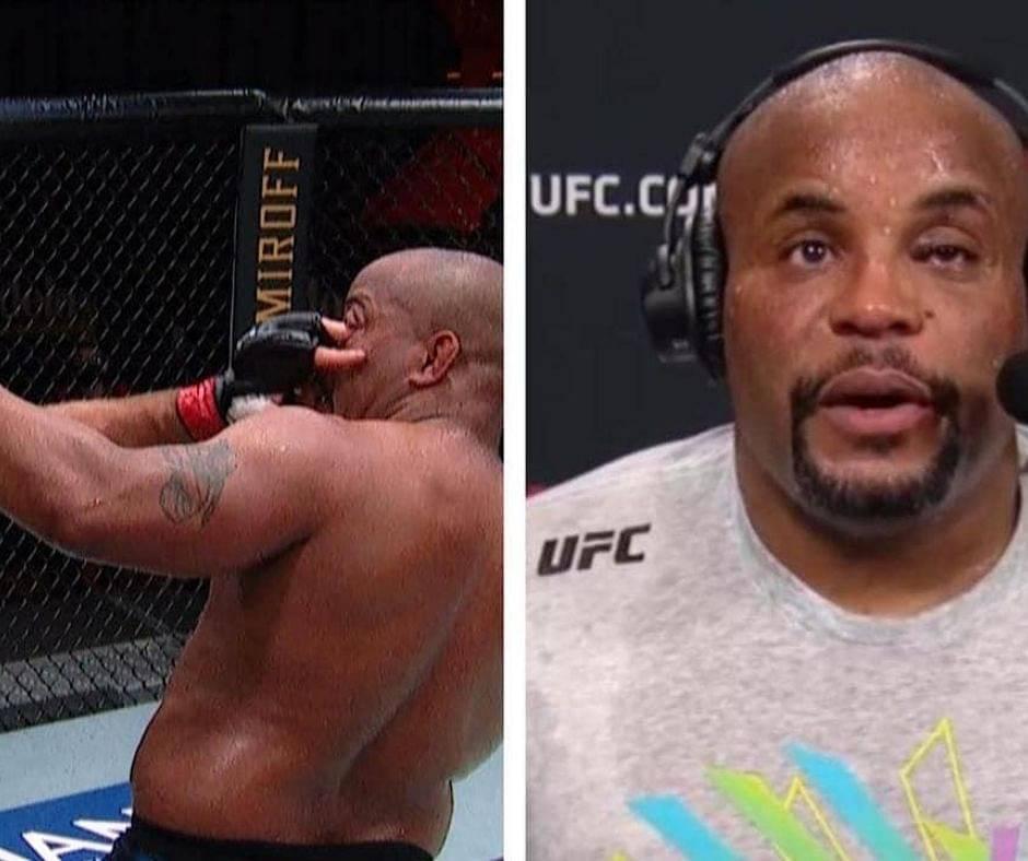UFC 252 Took a Toll On Daniel Cormier; Suffers Torn Cornea Following An Eye Poke