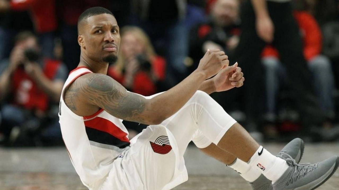 Damian Lillard leaves NBA Bubble