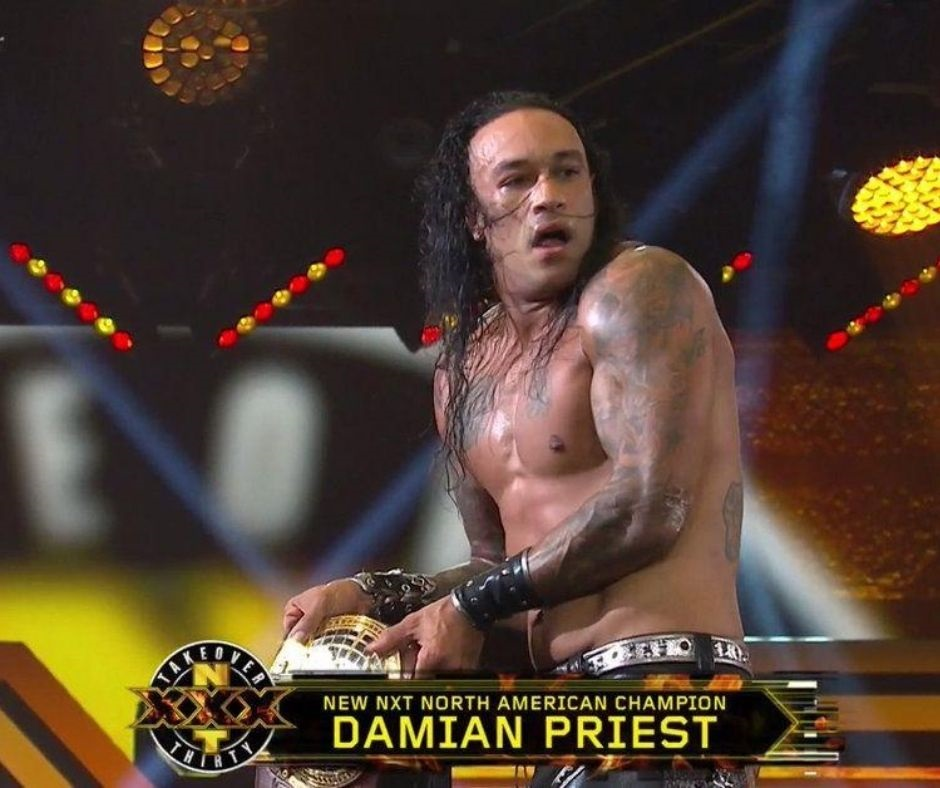 Damian Priest Captures The North American Championship At NXT Takeover XXX