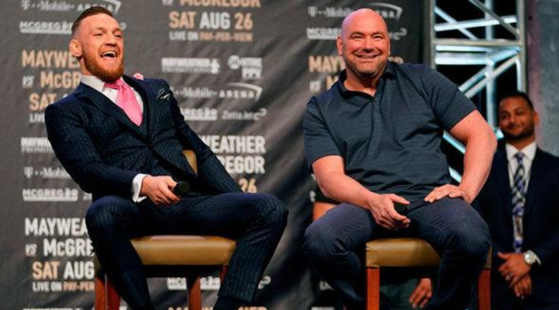 Dana White reveals why Connor McGregor is still in the UFC rankings