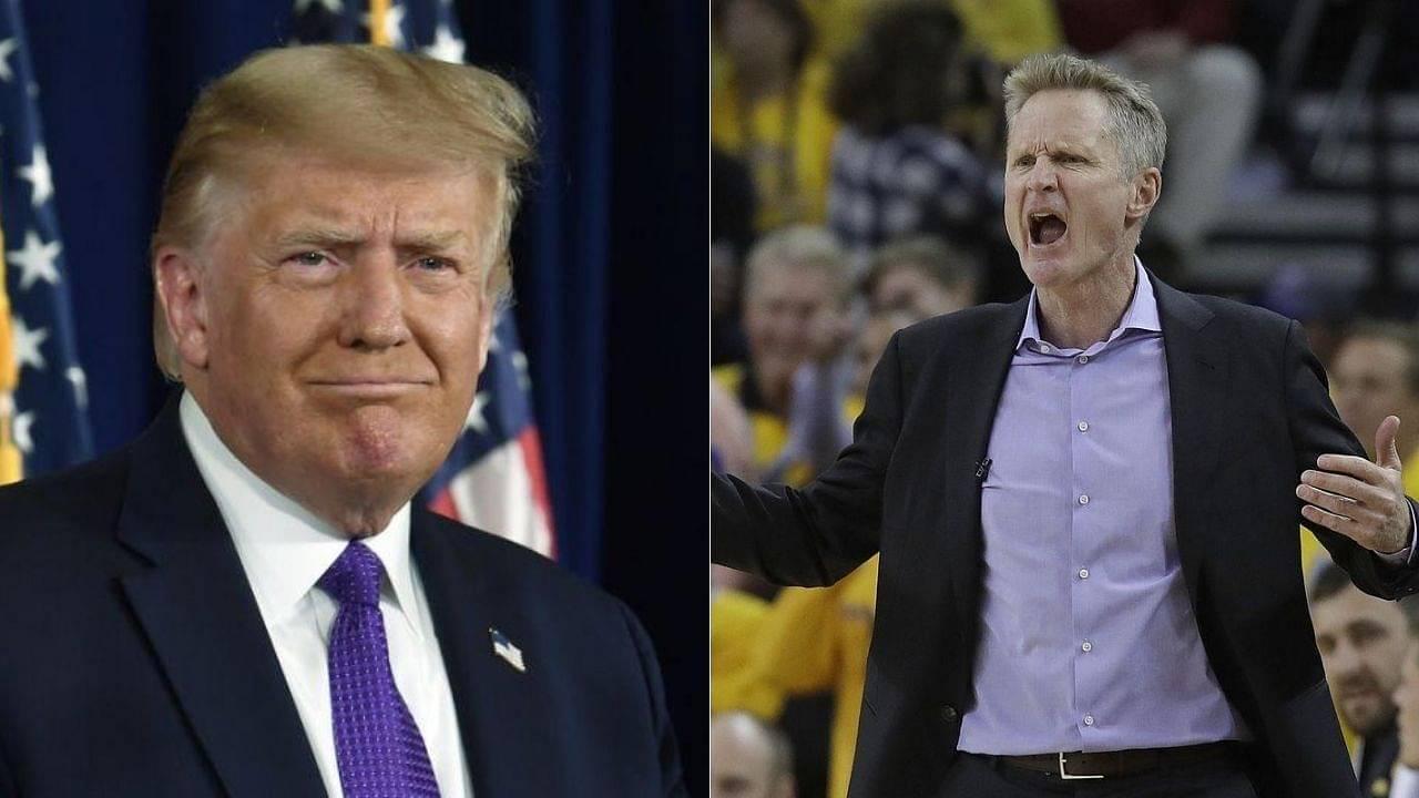 Steve Kerr on Donald Trump