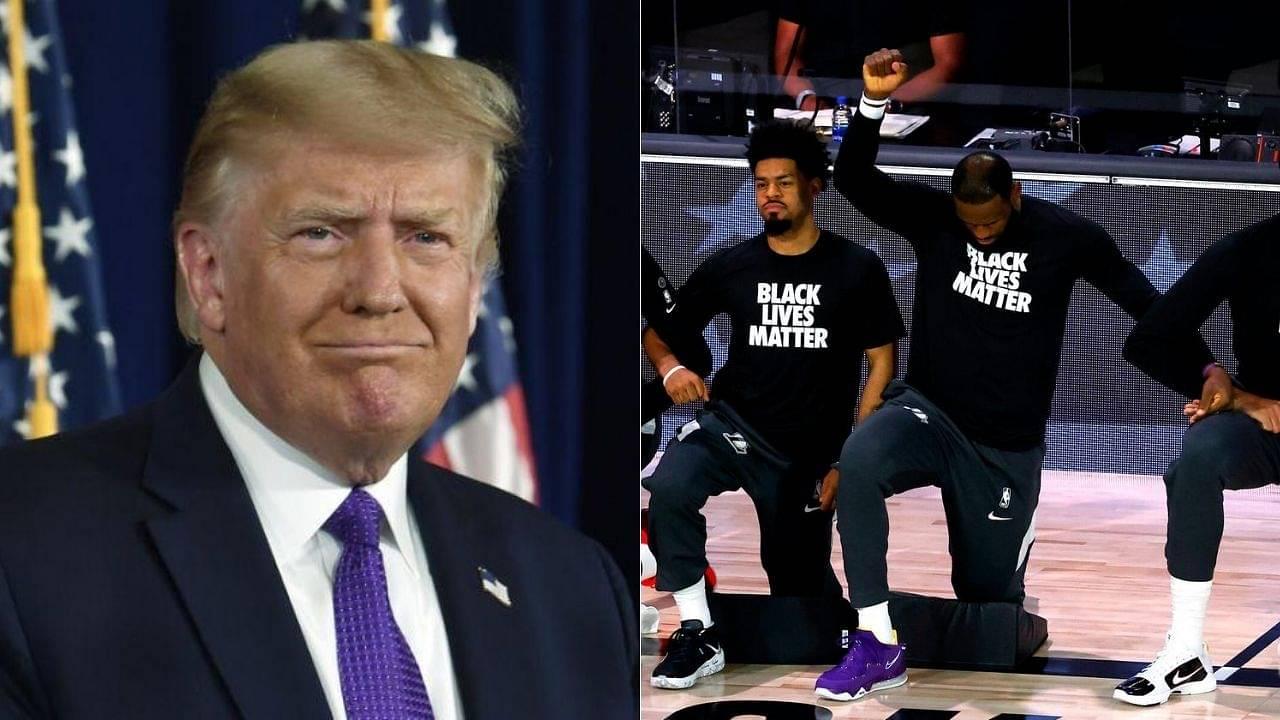 Donald Trump on NBA