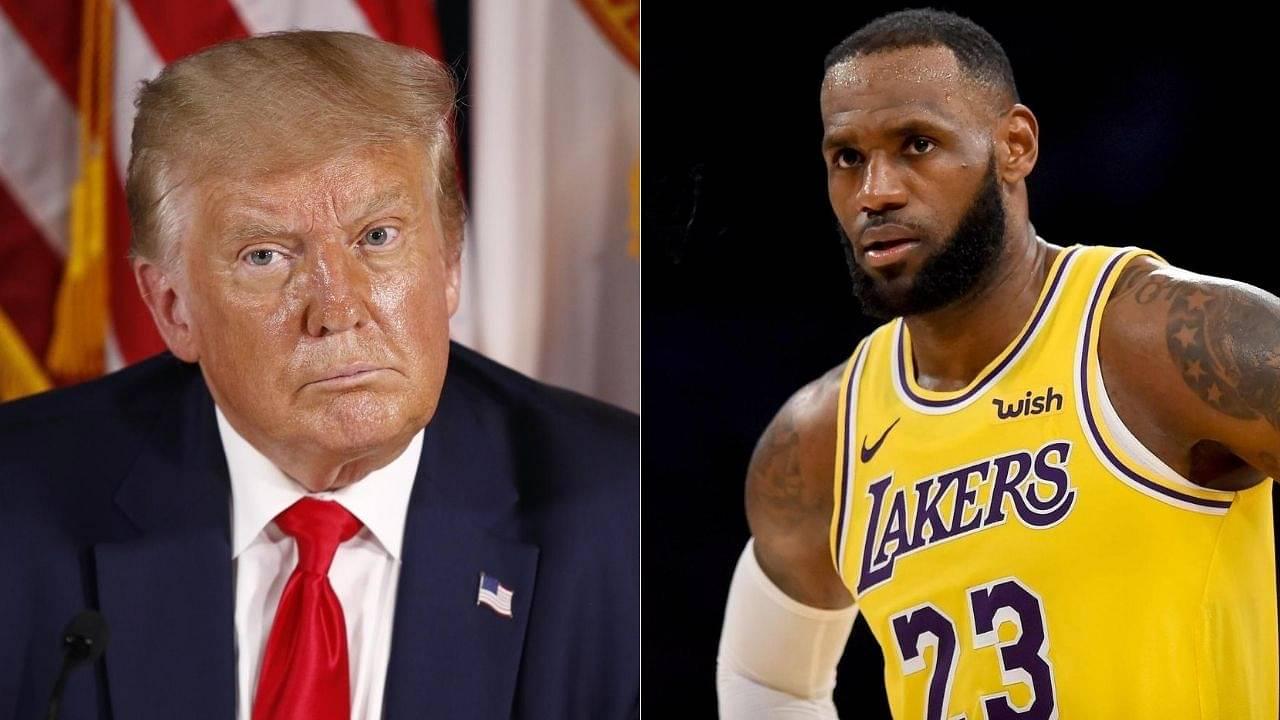 Donaldo Trump slams LeBron James