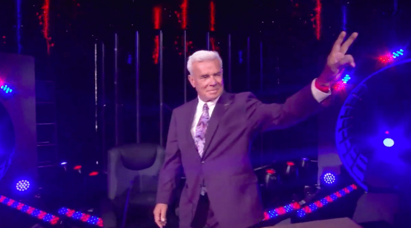 Eric Bischoff makes surprise AEW appearance as special guest moderator for Orange Cassidy and Chris Jericho debate