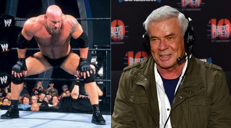 Eric Bischoff takes a swipe at Goldberg