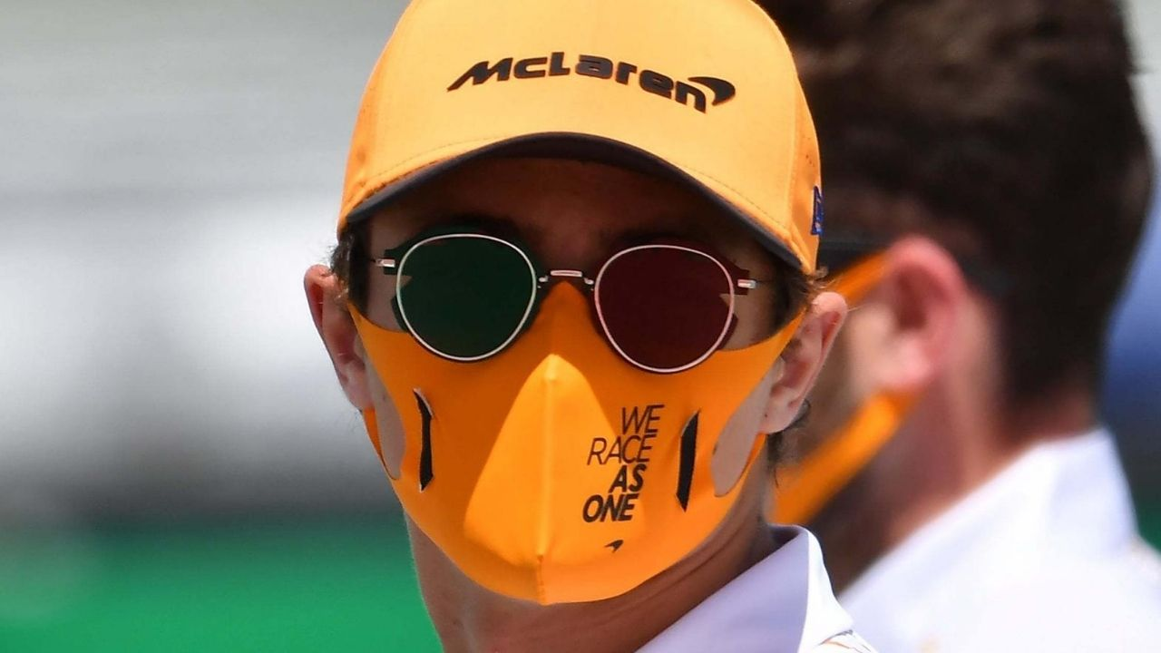 F1 Face Masks: Mclaren, Mercedes, Williams and Renault F1 Face Mask Brand and Material used?
